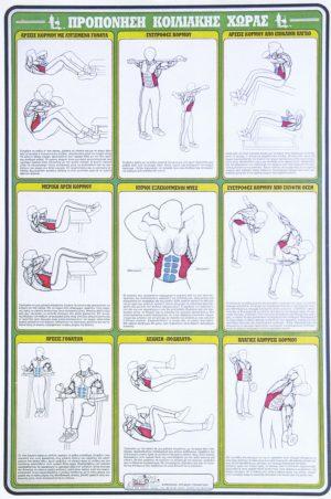 ΠΡΟΠΟΝΗΣΗ ΚΟΙΛΙΑΚΗΣ ΧΩΡΑΣ [ΑΦΙΣΑ νο7]. Αφίσες - Χάρτες -  -
