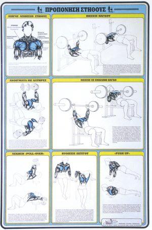 ΠΡΟΠΟΝΗΣΗ ΣΤΗΘΟΥΣ [ΑΦΙΣΑ νο6]. Αφίσες - Χάρτες -  -
