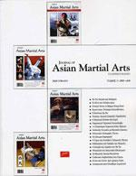 JOURNAL OF ASIAN MARTIAL ARTS 3. Πολεμικές τέχνες - Ασκησιολόγιο -