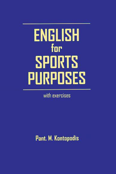 ENGLISH FOR SPORT PURPOSES